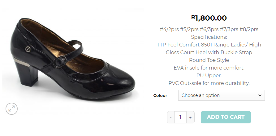 TTP Comfort-Online shoes in South Africa